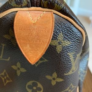 Louis Vuitton Bags - Genuine Louis Vuitton Speedy